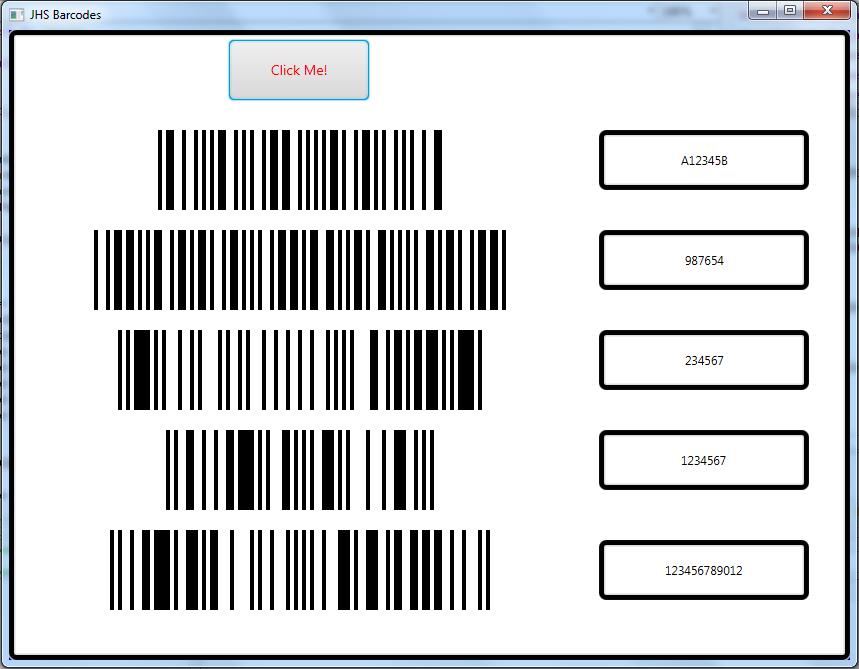 B4J Tutorial - Barcodes - QR Codes, PDF417, Aztec Codes