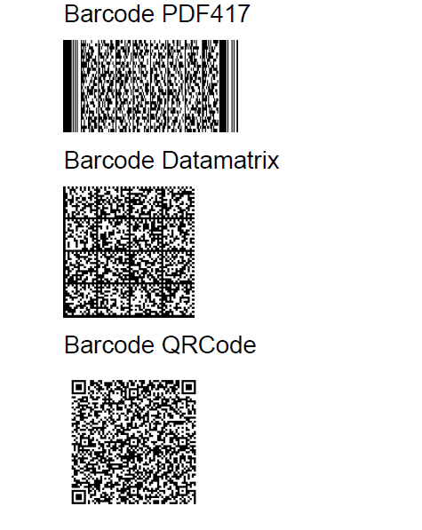 B4J Tutorial - Creating 1D and 2D Barcodes using inline Java Code