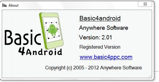 Android Tutorial - B4A Change Log (versions history) | B4X Community