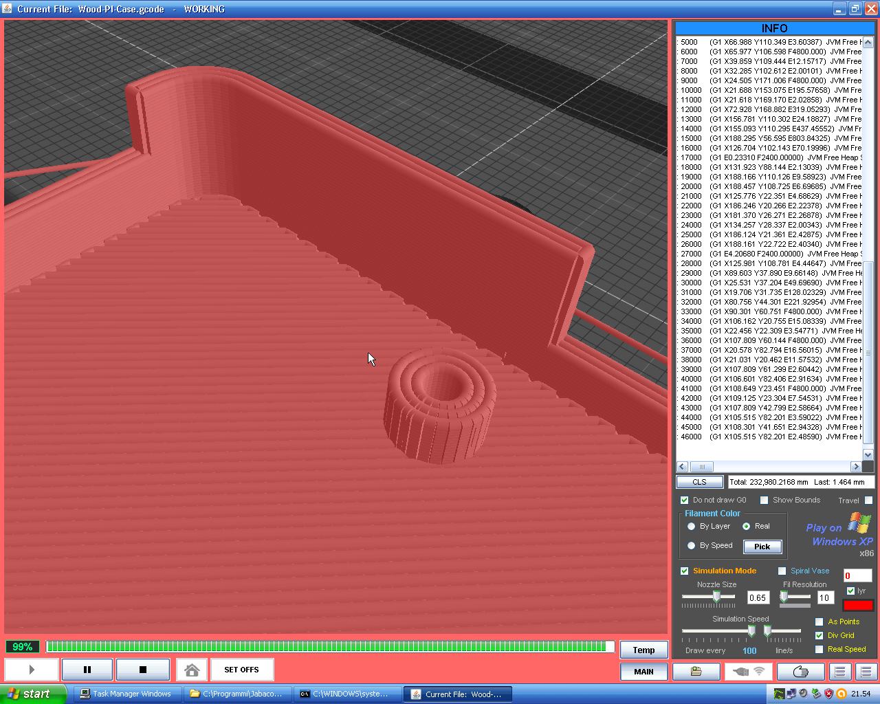 Android Question - B4A and OpenGL to simulate a 3DPrinter
