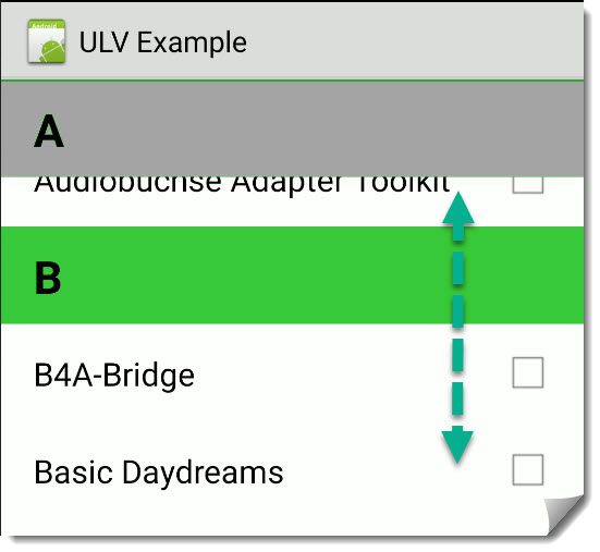 Android Sticky Header Recyclerview Without Library