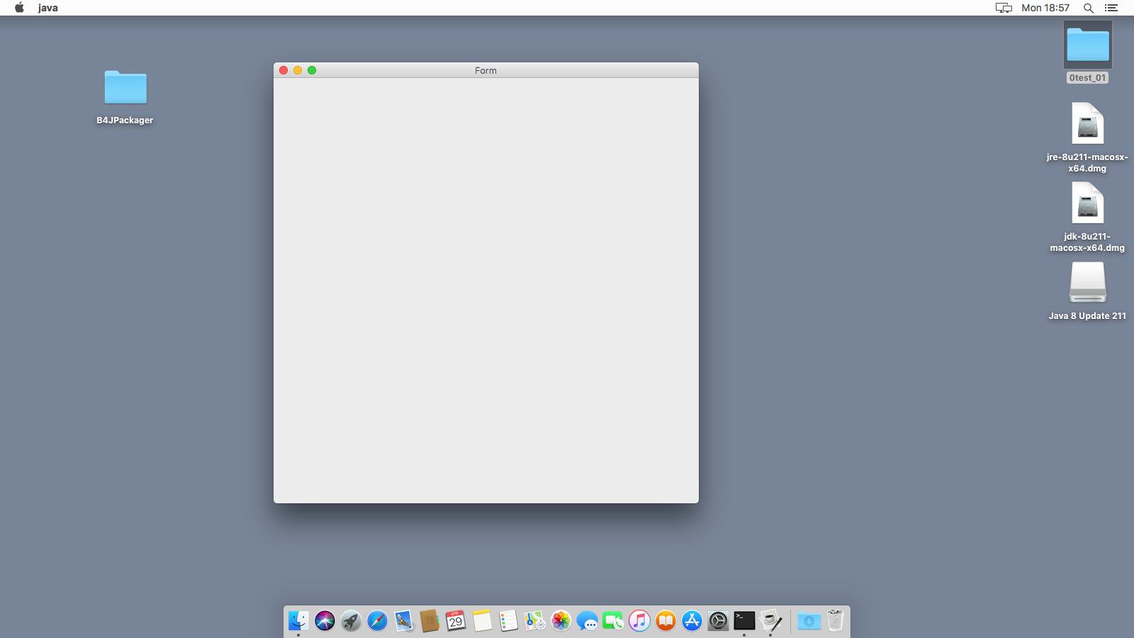 b4J form macOS 10.13 empty.png