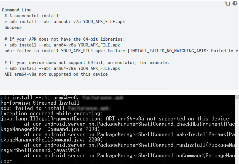 Android Question - force 64bit installation on emulator to