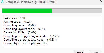 Bug? - Convert Byte code - Optimized dex | B4X Community - Android