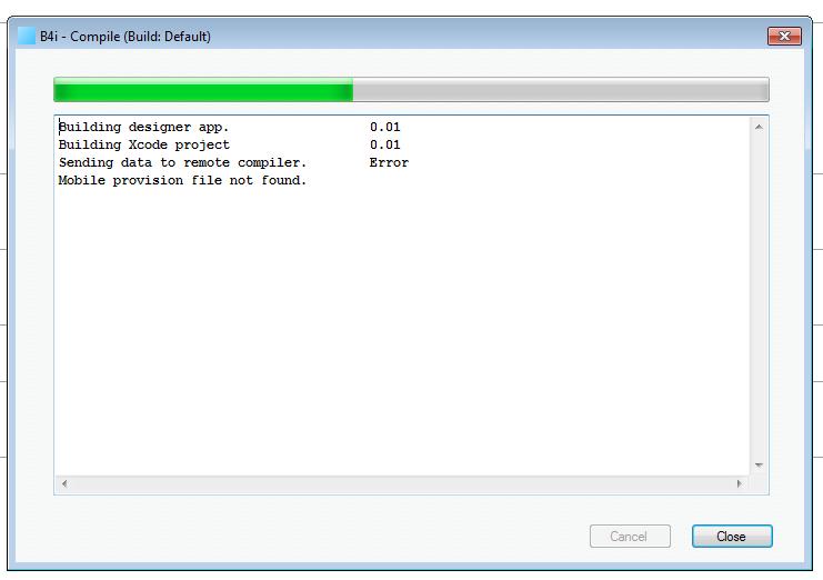 iOS Tutorial - Installing B4i-Bridge and debugging first app