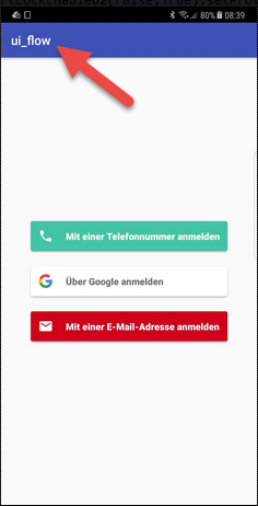 Android Question - Firebase UI Auth Screen customization | B4X