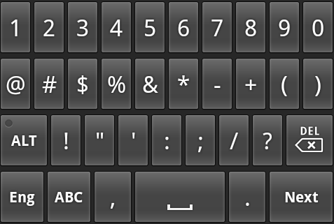 Android Tutorial - Handle the soft keyboard with the IME