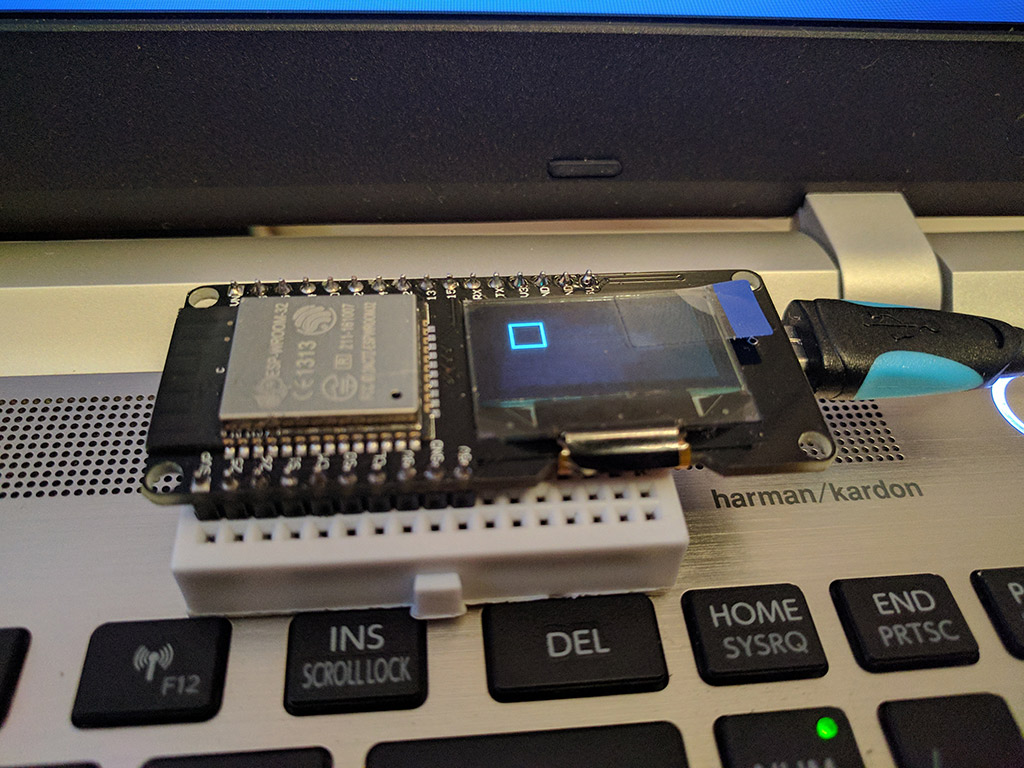 B4R Code Snippet - ESP32 with built in OLED display