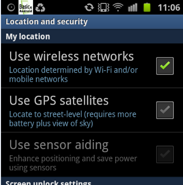 Android Question - GPS and quick settings screen | B4X Community
