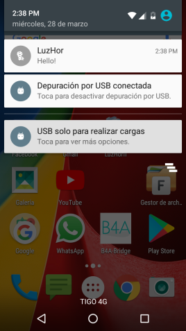 Android Code Snippet - Version safe notification | B4X