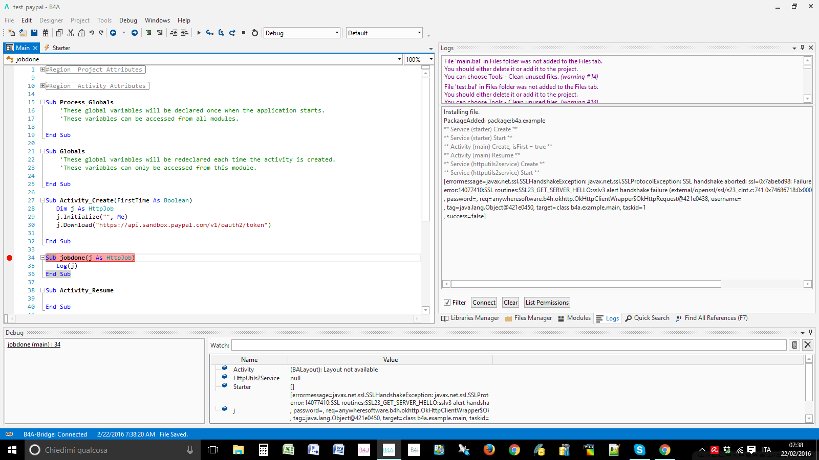Android Question - okHttp - javax net ssl SSLProtocolException SHA