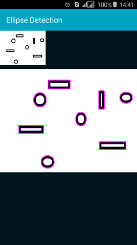 Android Question - Ellipse detection in an image with OpenCV | B4X