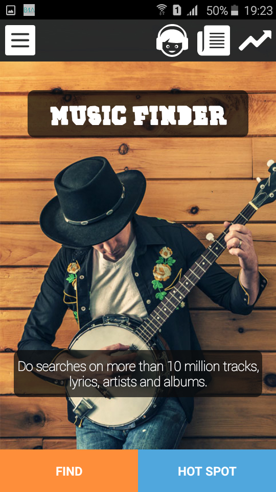 Share My Creation - Music Finder | B4X Community - Android