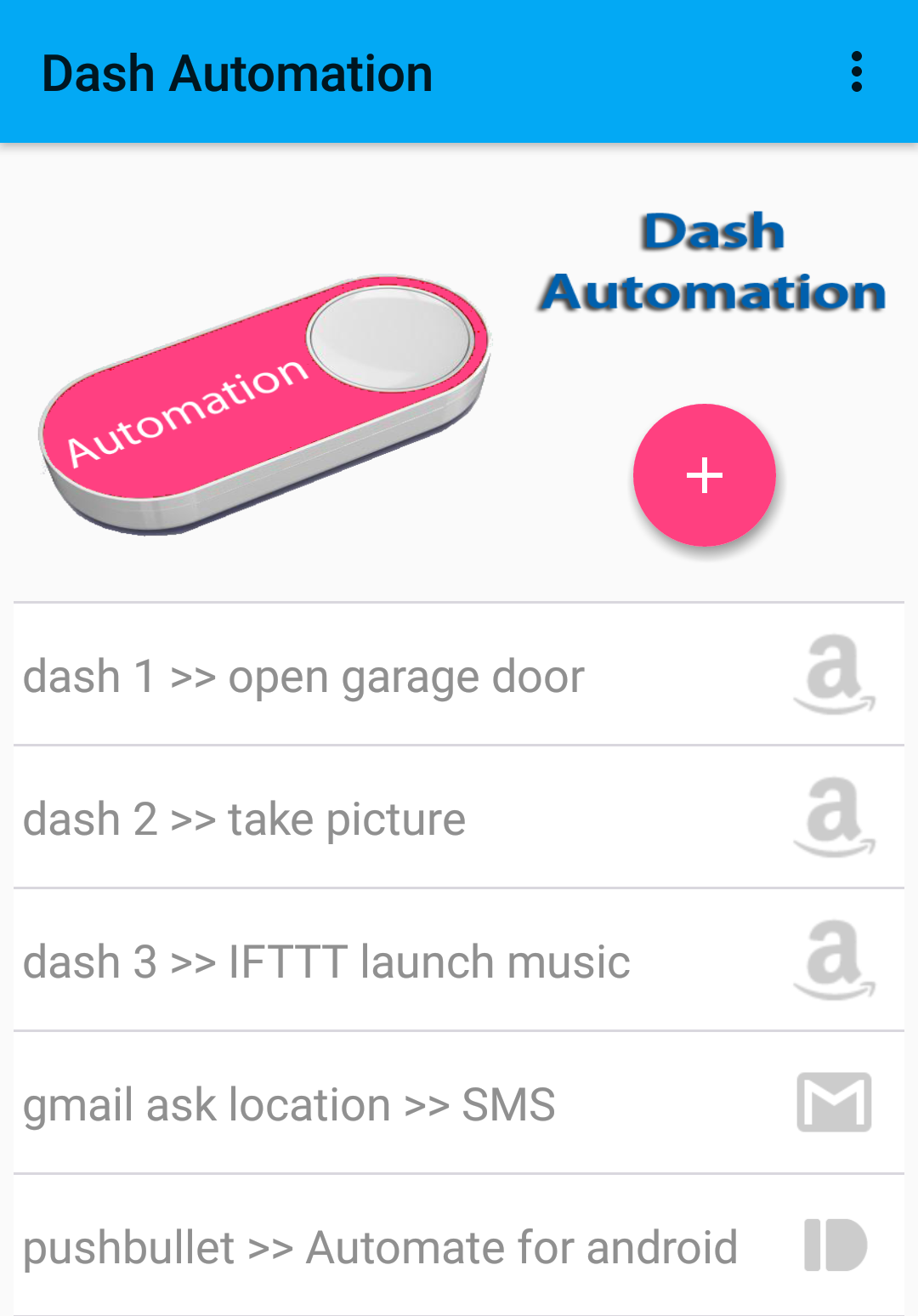 Share My Creation - JG Dash Automation | B4X Community