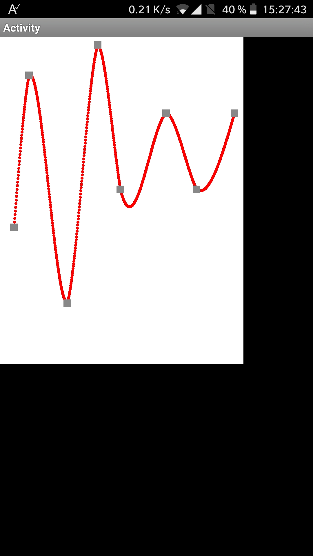 Android Code Snippet - Cube-Spline Curve   B4X Community - Android