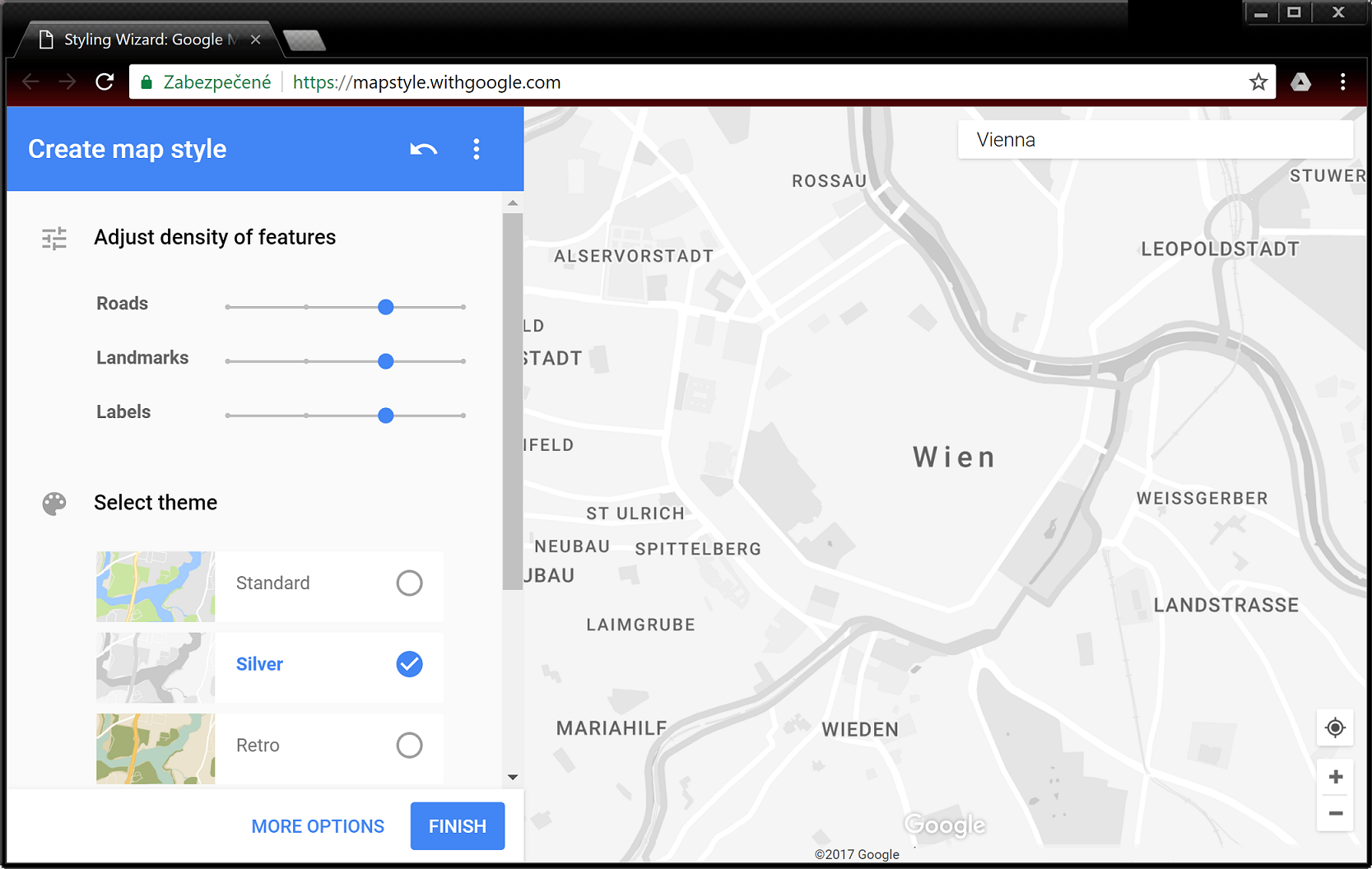 Android Question Google Maps Silver Style Theme BX Community - Style a google map