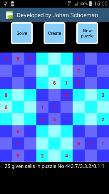 Android Example - Sudoku generator and solver | B4X