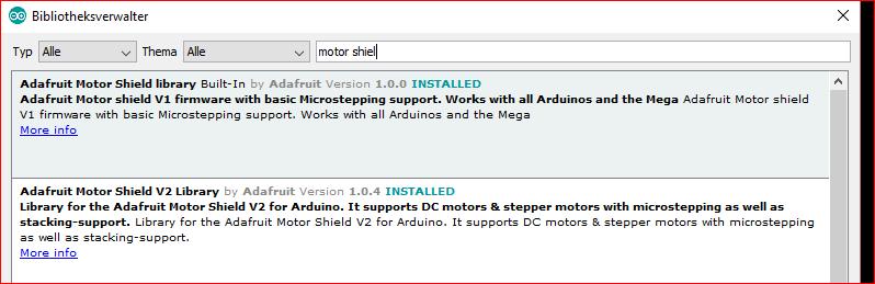 Wish - Adafruit Motor Shield V2 Libary | B4X Community
