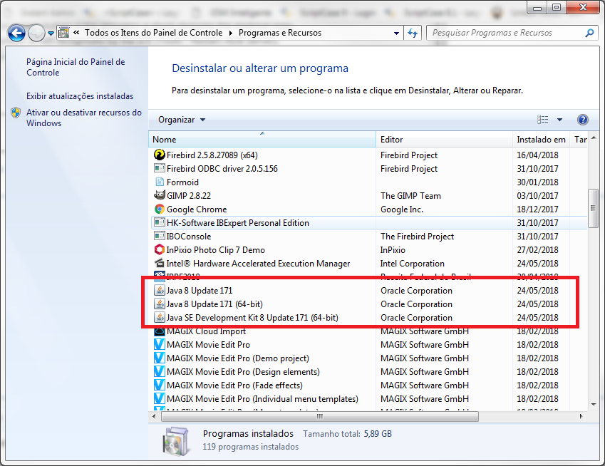 Java 8 Update 171 64 Bit