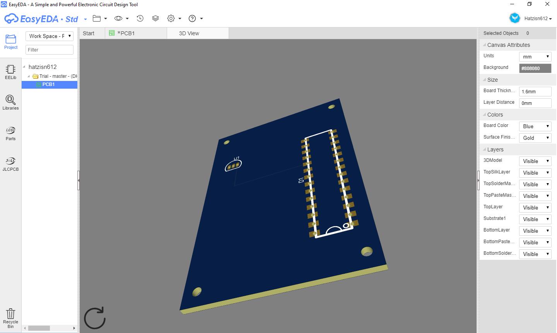 B4r Tutorial Easyeda Pcb Design Cad B4x Rapid Application Development Programming Tools