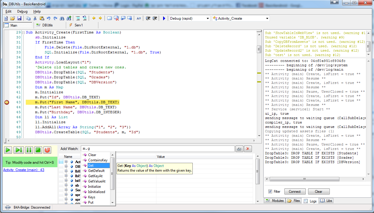 basic4android source code