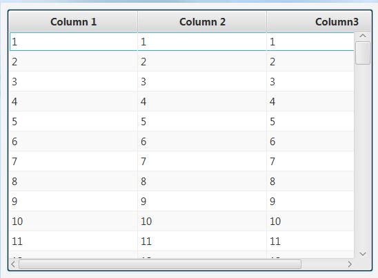 B4J Question - tableview and scrollbar dimension | B4X Community