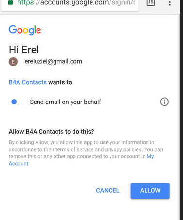Android Tutorial - [B4X] Sending emails with Gmail REST API