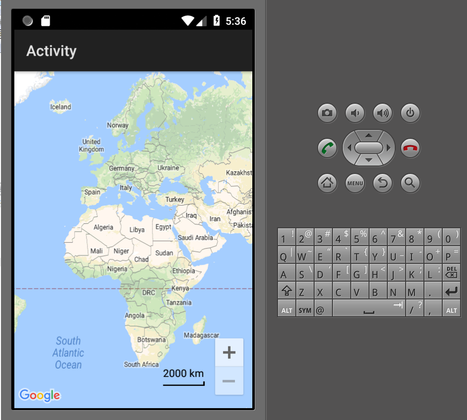 Android Question - Google maps in emulator   B4X Community